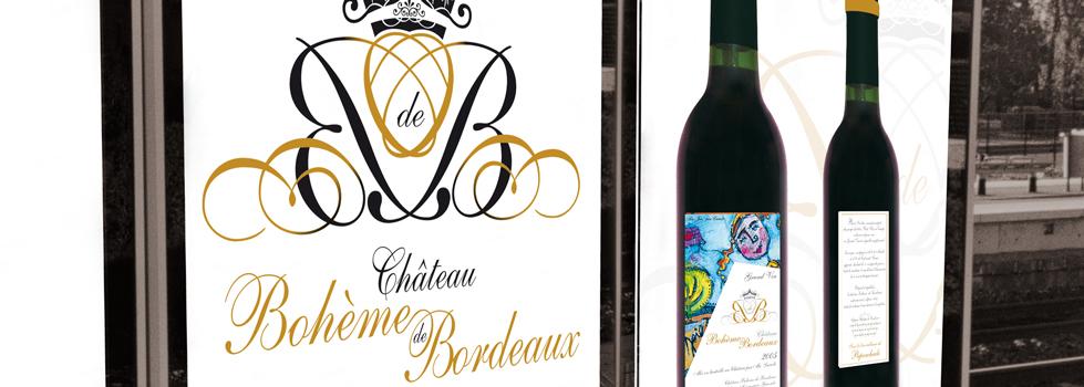Création de marque : Chateau Bohème de Bordeaux
