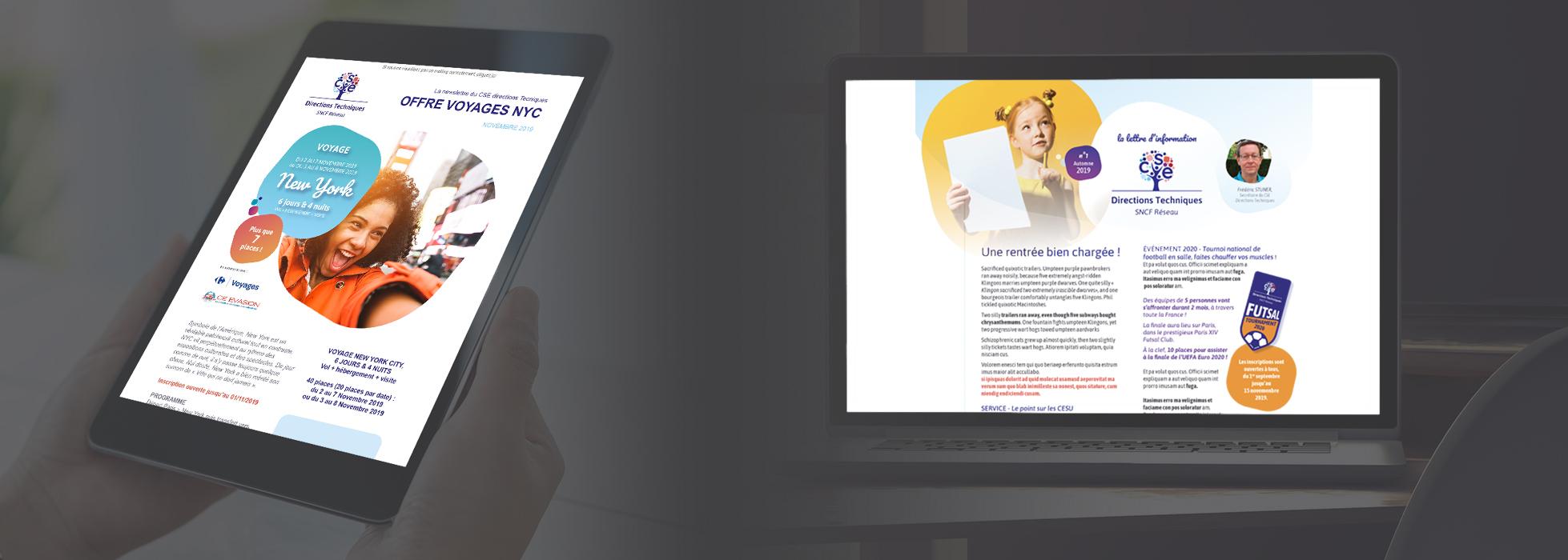 Communication digitale - CSE Direction Technique (SNCF Réseau)