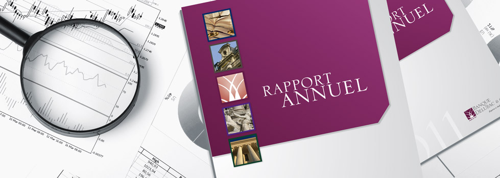 Rapport annuel Delubac & Cie